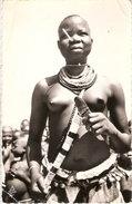CARTE REGION FORT ARCHAMBAULT TCHAD DANSEUSE SARA AFRIQUE ART TRIBALE - Chad