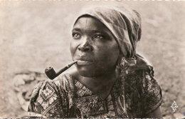 CARTE REGION BRAZZAVILLE CONGO FEMME BALALI FUMEUSE PIPE - Brazzaville