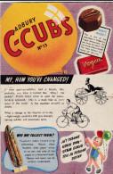 Magazines CADBURY  C-CUBS - 4 Numéros Des Années 50 (n° 13, 14, 15 Et 16) - Enfants