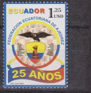 Ecuador Federazione Scacchi Chess MNH - Scacchi