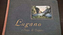 Lugano E Lago Di Lugano - Paul Bender Zurich - Zollikon - 1899?1900? - Suisse- Schweiz - Autres
