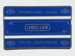 Thailand. Service Card. N° 512K - Thaïlande