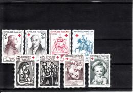 FRANCE LOT DE CROIX ROUGE DE 1959 A 1970 / 24 TIMBRES NEUFS XX - Sammlungen (ohne Album)