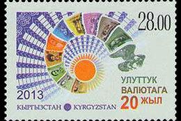 Kirgizië / Kyrgyzistan - Postfris / MNH - 20 Jaar Munteenheid Kirgizië 2013 - Kirgizië