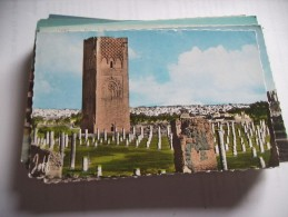 Marokko Maroc Rabat The Hassan Tower - Rabat