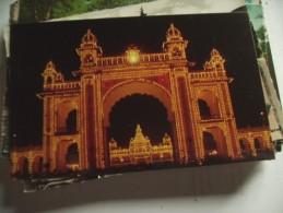 India Mysore Lalithmahal Maharaja ´s Palace Entrance - India