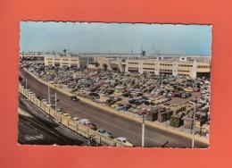 * CPSM..Algérie..ALGER :  Le Terre Plein De La Gare Maritime Pendant La Foire Internationale : Voir Les 2 Scans - Alger