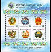 Kirgizië / Kyrgyzistan - Postfris / MNH - Sheet Meeting Heads Of State 2013 - Kirgizië