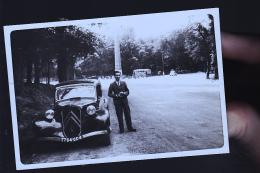 PARIS UNE TRACTION     ANNEES 40  CARTE PHOTO     ORIGINALE - Zonder Classificatie