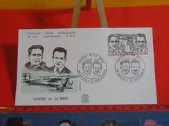 FDC > 1980-1989 > Dieudonné Costes Et Le Joseph Brix - 56 Baden & 82 Septfonds - 12.9.1981 - 1er Jour. Coté 12 € - FDC