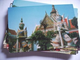 Asia Thailand Dhonburi Statue Of Giants - Thailand