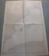 Carte Marine : MEDITERRANEE OUEST - Feuille N° 1 (Espagne / Baléares / Algérie...). 1964 - Nautical Charts