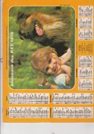 CALENDRIER P.T.T. 1978 - - Calendars