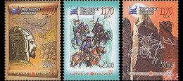 Kirgizië / Kyrgyzistan - Postfris / MNH - Complete Set 1170 Jaar Kaganet 2013 - Kirgizië