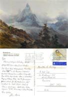 Matterhorn, VS Valais, Switzerland Postcard Posted 2010 Stamp - VS Valais