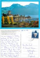 Spiez, BE Bern, Switzerland Postcard Posted 1999 Stamp - BE Berne