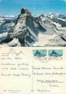 Matterhorn, VS Valais, Switzerland Postcard Posted 1966 Stamp - VS Valais