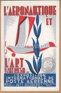 EXPOSITION INTERNATIONALE DE POSTE AERIENNE 1930  Paris Po8 - Postal Services