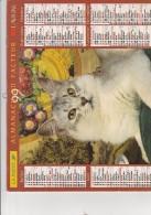 CALENDRIER P.T.T. 1999 - - Grand Format : 1991-00