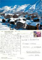Saas Fee, VS Valais, Switzerland Postcard Posted 2003 Stamp - VS Valais