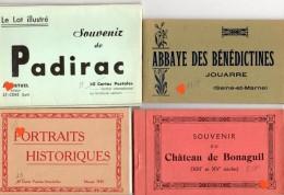 35575-ZE-DIVERS-Lot De 4 Carnets-4 Mini Pochettes Avec Photos-pochettes Photos Et Documents Divers Numéro D'objet: 18573 - Cartoline