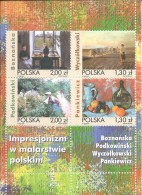 ZPOLBn168 - POLOGNE 2005 - Bloc N°168 (YT) Neuf** - MNH - ART. Tableaux De Peintres Impressionnistes Polonais - 1944-.... Republik