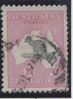 Australie - N° 13A - Oblitéré - Fil. 2 - 1913-48 Kangaroos