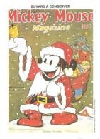 Buvard Mickey Mouse Magazine Holiday Number Walt Dysney Productions - Cinéma & Theatre