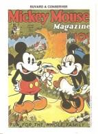 Buvard Mickey Mouse Magazine Fun, For The Whole Family Walt Dysney Productions - Cinéma & Theatre