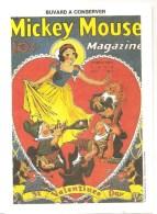 Buvard Mickey Mouse Magazine Saint Valentines Day Walt Dysney Productions - Cinéma & Théatre