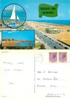 Rimini, RN Rimini, Italy Postcard Posted 1975 Stamp - Rimini