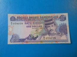 Brunei 1 Ringitt 1989 P.13a UNC - Brunei