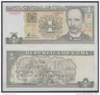 2005-BK-100 CUBA. 1$ JOSE MARTI. 2005  UNC PLANCHA - Cuba