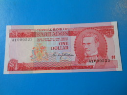 Barbades Barbados 1 Dollar 1973 P.29a UNC - Barbades
