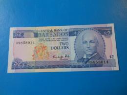 Barbades Barbados 2 Dollars 1986 P.36 UNC - Barbades