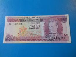 Barbades Barbados 20 Dollars 1988 P.39 SUP XF - Barbades