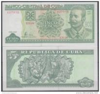 2005-BK-101 CUBA 5$ ANTONIO MACEO. 2005. UNC. - Cuba