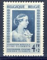 #Belgium 1951. Queen Elisabeth. Michel 912. MH(*) - Ongebruikt