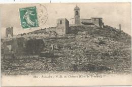 Cp , 13 , ALLAUCH , Notre Dame Du Château , Coté De TRINIERE , Voyagée 1909 - Allauch