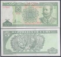 2006-BK-101 CUBA 2006. 5$. ANTONIO MACEO. UNC. - Cuba