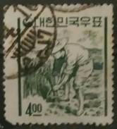 COREA DEL SUR 1962 -1963 Iconos Nacionales En La Nueva Moneda. USADO - USED. - Corea Del Sur