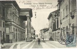 **Italie**  - CREMONA  Corso Vittorio Emanuele E Teatro  TTBE - Cremona