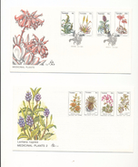 South Africa Transkei Medicinal Plants Medicine 24-27 32-35  Day Of Issue Cancel 1977-1981 A04s - Transkei