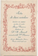 **Italie**  - Carta De Visita Veneziane Unused TTBE - Vicenza