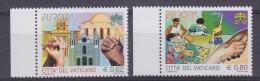 Europa Cept 2006 Vatican City 2v  ** Mnh (33406) - 2006