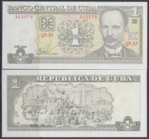 2009-BK-100 CUBA 2009. 1$ JOSE MARTI. UNC - Cuba