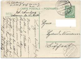 Nr. 80 - Stempel Luxembourg-Ville 09-10-1926 Und Grosbous 11-10-1926 Nach Buschrodt - Entiers Postaux