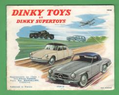 Dinky Toys Catalogo  Auto Cars Camions Thank 1958 Con Prezzo - Publicidad