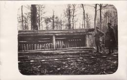 """CP Photo 14-18 Au Bois D´Hennemont (près Etain) - Les Obus Pour """"le Canon De Conflans"""" (A157, Ww1, Wk 1) - France"""
