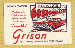 BUVARD :GRISON La PLYMOUTH Rouge - Chaussures
